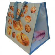1 caja de 120 bolsas Pan y Pastel Azul  160gr 39x28x34 cm