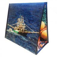 1 caja de 120 bolsas Pescado marisco 160gr 39x21x34 cm