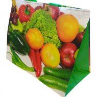 1 caja de 100 bolsas Fruta y Verdura  120gr 40x20x35 cm