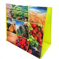 1 caja de 100 bolsas Fruta verdura tractor  150g 40x20x35cm