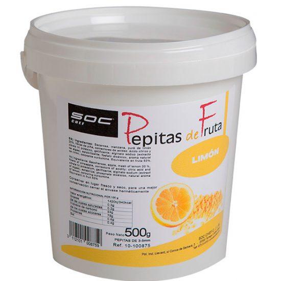500g PEPITAS DE LIMÓN  3/5mm