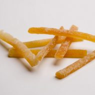 5kg Bastones de piel de naranja recto  calibrado 5-7 cm + dextrosa