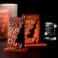 Kit Arbol Navidad 100x52x150 (h) mm - 4 kit cada caja