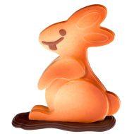 Kit Chocogang Giulio conejo - 12 uds para hacer 2 conejos