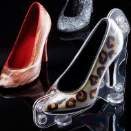 Molde policarbonato magnetico para hacer zapato 150x70x120h mm