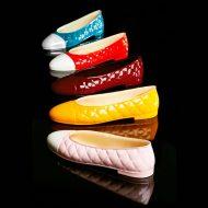 Molde policarbonato magnetico para hacer zapato ballerina 185x65x50h mm