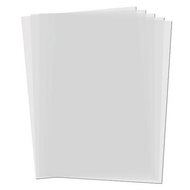 Paquete 100 HOJAS Acetato PVC