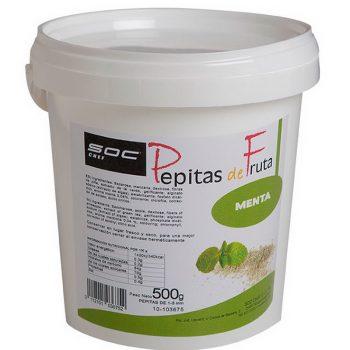 500g PEPITAS DE MENTA  1/3mm
