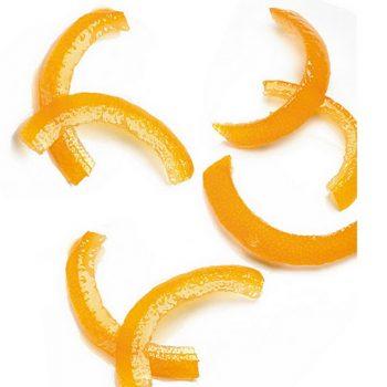 5kg Tiras de piel de naranja curvada