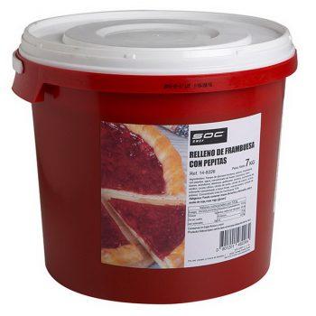 7kg Relleno Frambuesa con pepita  horneable