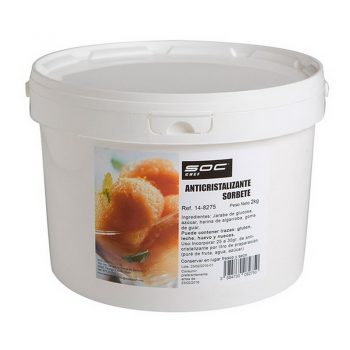 Anticristalizante para sorbete 2kg Soc Chef