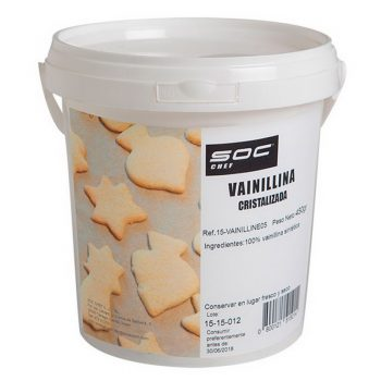 450g Vainillina cristalizada