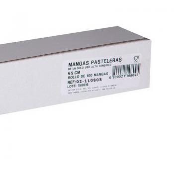 Caja de 100 Mangas de Alta Densidad 65 cm en rollo