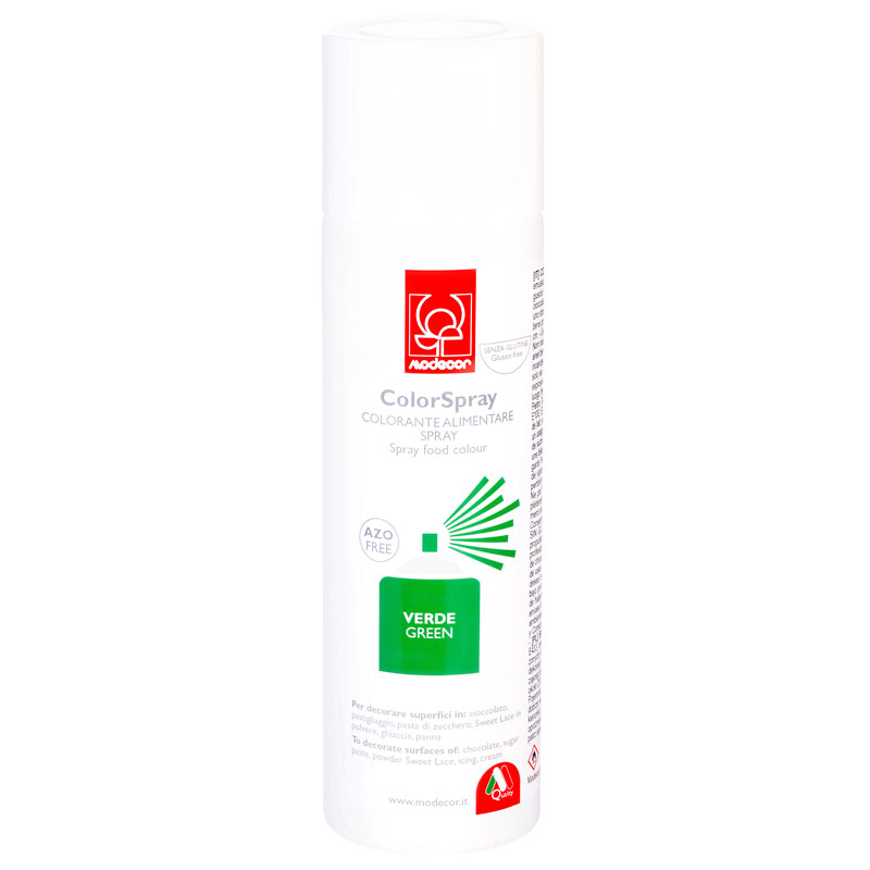 COLORANTE SPRAY 250ml VERDE