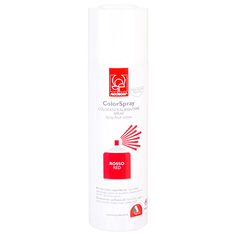 COLORANTE SPRAY 250ml ROJO