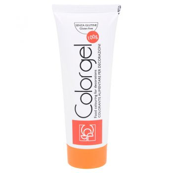 COLOR GEL 100g NARANJA MANDARINA