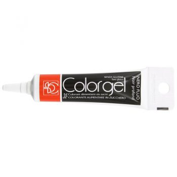 COLOR GEL 20G NEGRO FLUO