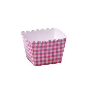 CAJA PALOMITAS MINI ROSA - 100% CHEF