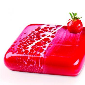 3D Molde para tarta Mars 165x165xh 40 mm en caja Pavoni