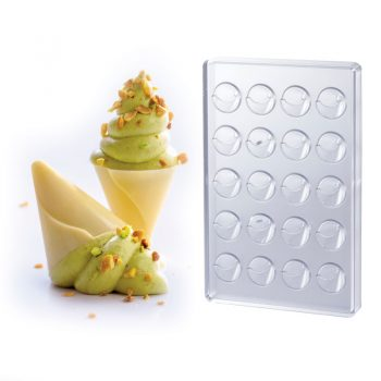 MOULD SHELL CONE TRANSPARENT