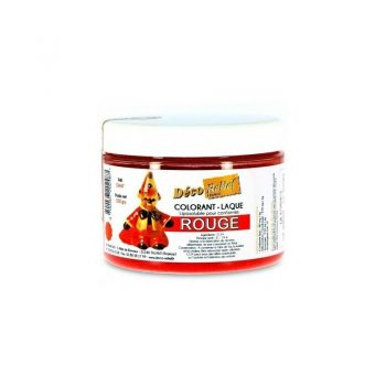 COLORANTE LACA LIPOSOLUBLE DECORELIEF - ROJO 100 GRS