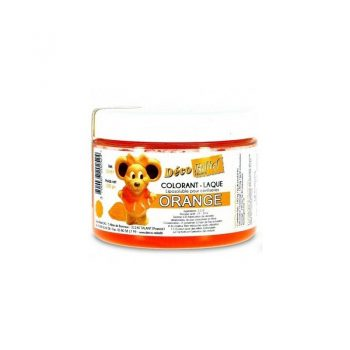 COLORANTE LACA LIPOSOLUBLE DECORELIEF - NARANJA 100 GRS