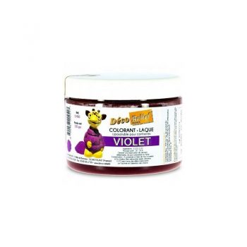 COLORANTE LACA LIPOSOLUBLE DECORELIEF - VIOLETA 100 GRS