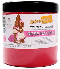 COLORANTE LACA LIPOSOLUBLE DECORELIEF - ROSA NATURAL 100 GRS